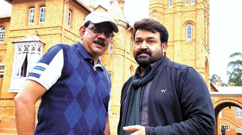 Mohanlal and Priyadarshan