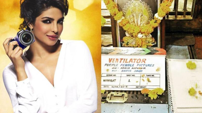 Priyanka Chopra will be producing the Marathi film Ventilator, that will be directed by Rajesh Mapuskar.