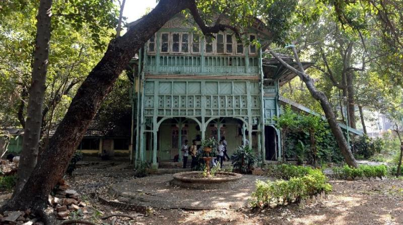 The Kipling Bungalow Is One Of Several Mansions In Mumbai Once Associated With Famous Residents But Now Ruin Photo AFP