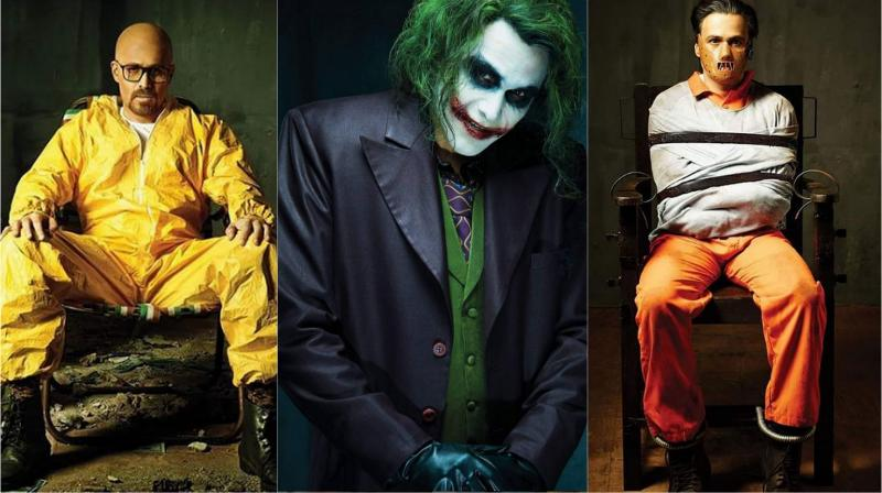 Emraan slays it!  sc 1 st  Deccan Chronicle & Emraan Hashmi transforms into Joker Heisenberg and Hannibal Lecter!