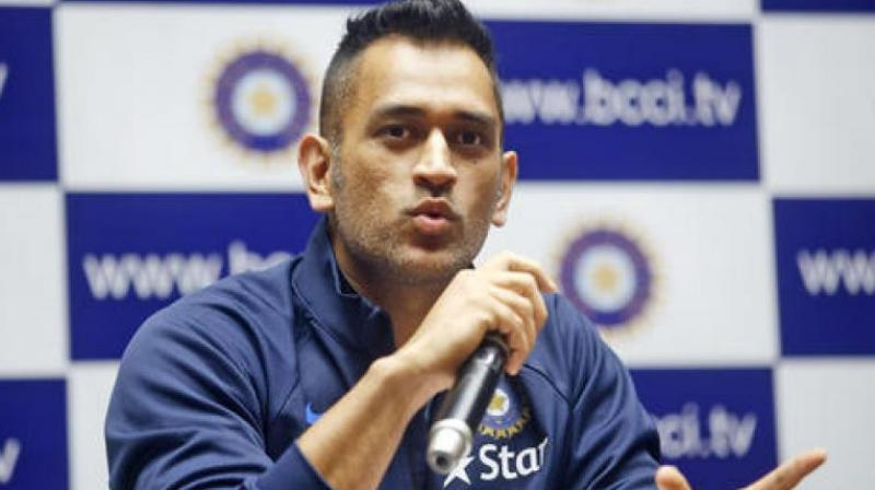 It seems that MS Dhoni is having the time of his life with the non-regulars of the Indian cricket team in Zimbabwe. (Photo: AP)