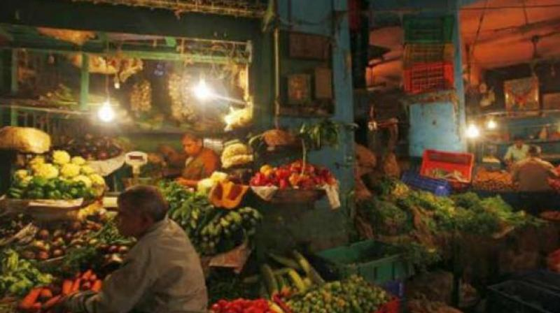 Food inflation was 5.91 percent last month, slower than 8.35 percent recorded in July.