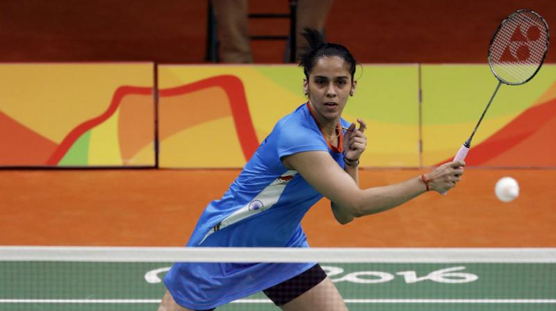 Saina Nehwal, the former world number one, had made an early exit from the Rio Olympics following a straight game defeat against Ukraine's Marija Ulitina in the second match. (Photo: AP)