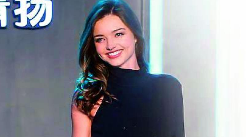 Picture of  Miranda Kerr used for representational purpose only