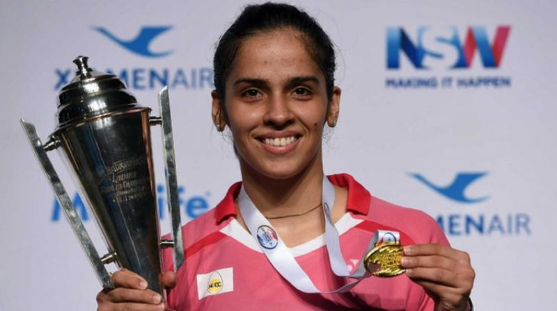 Saina Nehwal, who is eager to win gold at the Rio Olympics 2016, clinched her second Australian Open title overcoming her fitness woes. (Photo: AFP)
