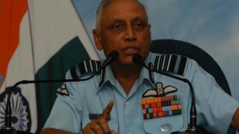 Former IAF chief S P Tyagi (Photo: PTI)