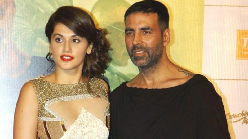 Akshay was apparently very impressed with Tapsee's work in 'Baby'.
