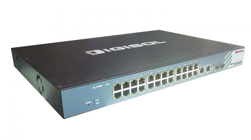 It Supports VLAN SNMPv1 Port Mirroring And Trunking Its A Great Entry