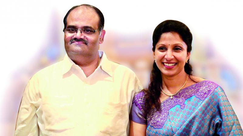 keeping the spark alive: Doctor Hari Prasad is the CEO, central region of Apollo Hospitals and doctor Suma Kantipudi is an IVF and infertility  specialist with her own facilities.