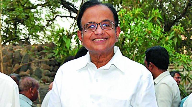 The then home minister P. Chidambaram used the saffron terrorism phrase in Parliament in 2010, Trivedi alleged, and wondered if this was a mere coincidence.