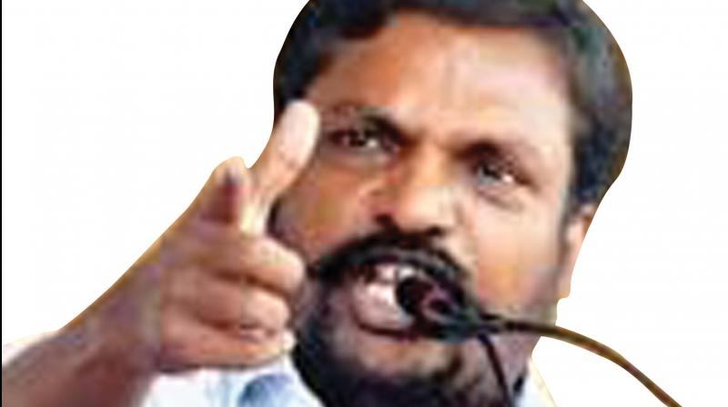 VCK chief Thol. Thirumavalavan
