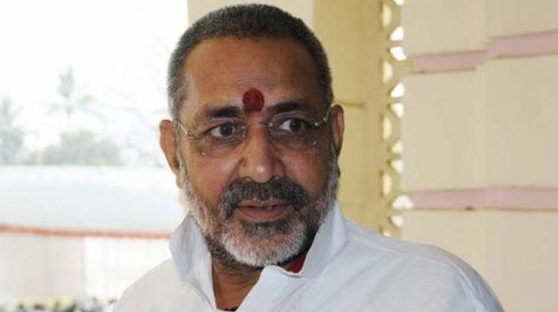 Union minister Giriraj Singh. (Photo: PTI)