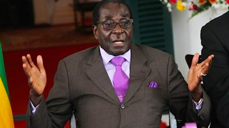 Zimbabwe President Robert Mugabe pulled out of the Sri Sri event due to security and protocol issues. (Photo: AP)