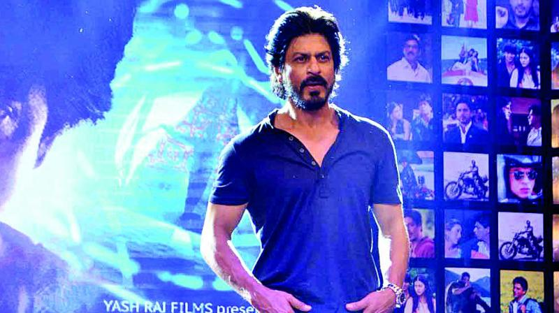 Shah Rukh Khan has been busy the past few days, dubbing for his upcoming film Fan.