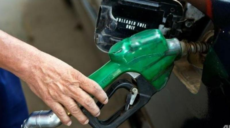 Petrol price is raised due to increase in their prices in international markets.