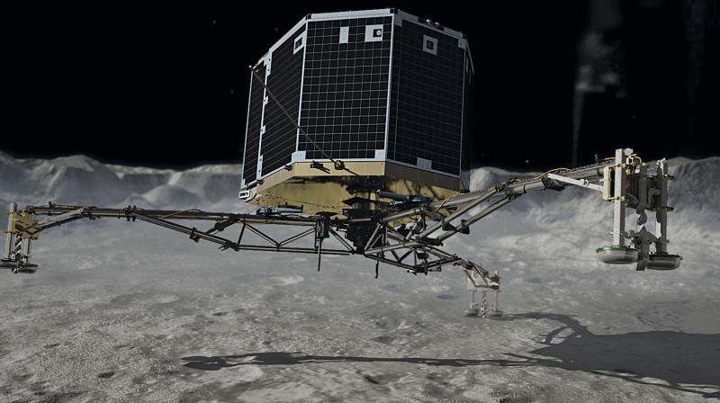 ESA: Rosetta space probe finds lost Philae lander on comet
