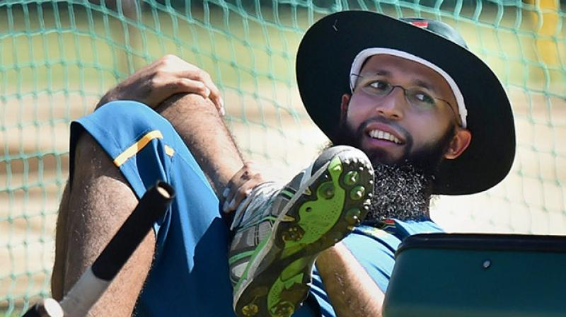 Reports began to circulate on Friday suggesting that South Africa batsman Hashim Amla, who is a strict believer and follower of Islam, was not comfortable that the TV host was wearing a skirt and a low-neck top, Sport24 reported. (Photo: PTI)