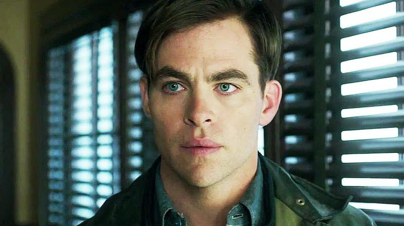 The film directed by Craig Gillespie stars Chris Pine, Casey Affleck, Eric Bans, Holiday Grainger.