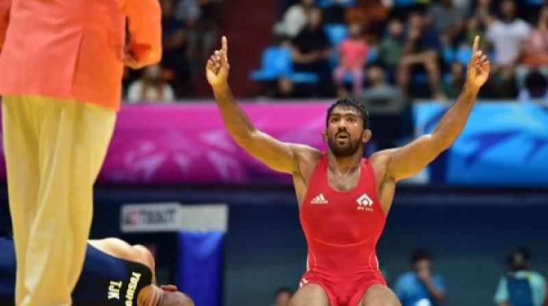 Yogeshwar Dutt would be handed a silver medal after the Wrestling Federation of India (WFI) gets the confirmation in writing from the World body (UWW). (Photo: AFP)