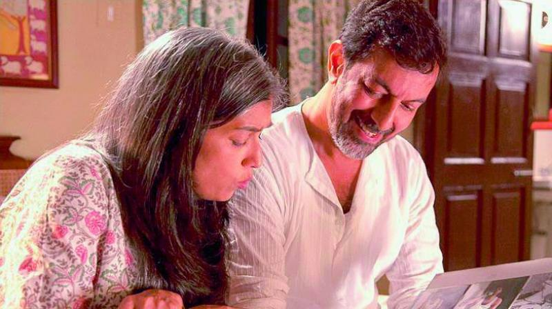 Ratna Pathak Shah and Rajat Kapoor in a still from Kapoor & Sons