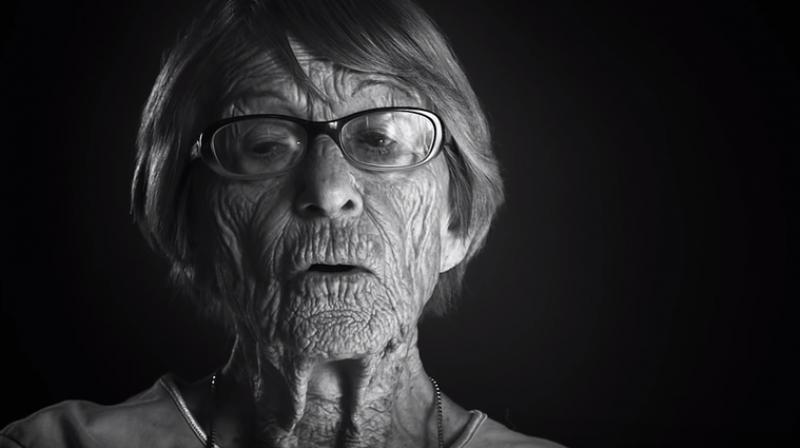 Brunhilde Pomsel, the former secretary of Hitler's right hand man Joseph Goebbels. (Photo: Youtube screenshot/A german life)