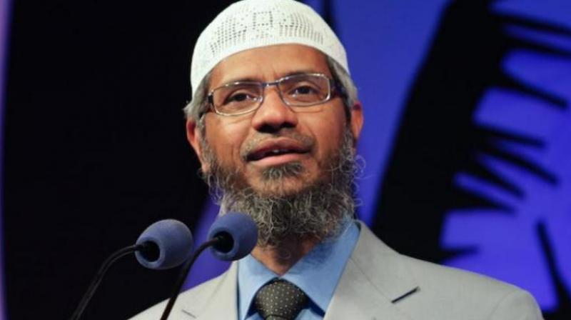 Controversial Islamic preacher Zakir Naik. (Photo: PTI)