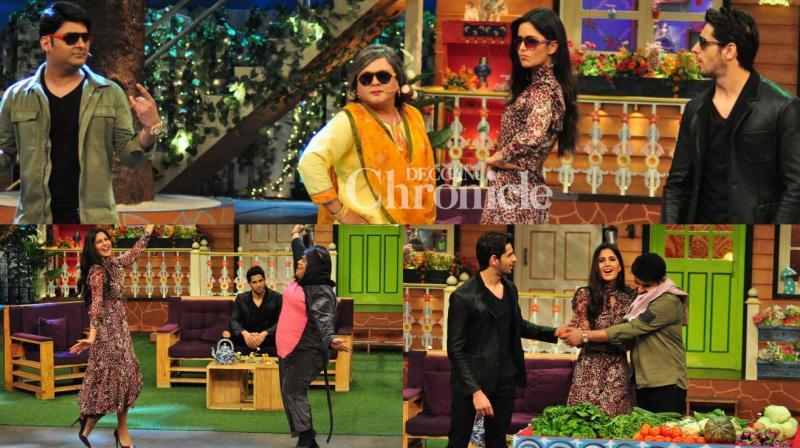 Katrina Kaif and Sidharth Malhotra have an enjoyable time promoting their film 'Baar Baar Dekho' at 'The Kapil Sharma Show'.