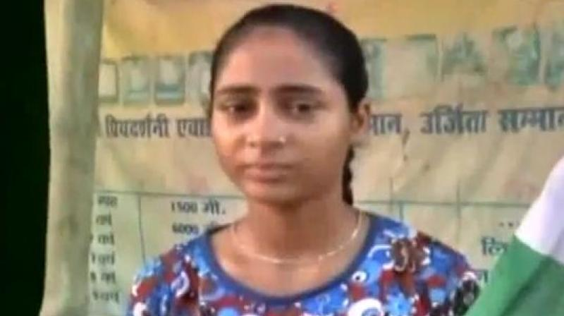 Shraddha Shukla is set to swim from her hometown Kanpur to Varanasi. (Photo: Videograb)