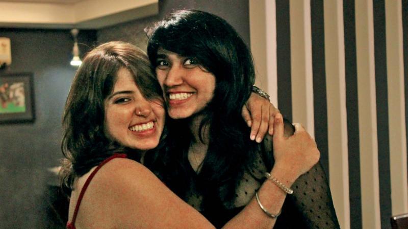 Juhi and Shivani