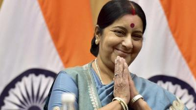 Former external affairs minister Sushma Swaraj. (Photo: PTI)
