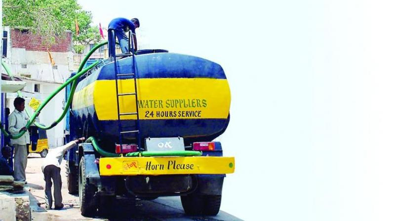Unable to meet the demand, the Water Board has instructed filling stations to operate till 9.30 pm, and ensure delivery of tankers within two days. (Representational image)