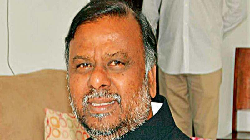 Karnataka Social Welfare Minister H. Anjaneya.