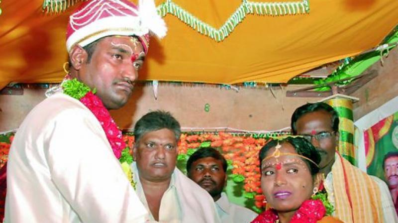 Orphan girl who grew up at Telangana home married