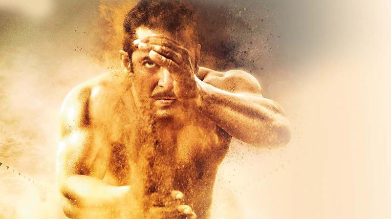 The clip chooses to focus on the actor, his dialogues, his moves, his punches — the whole package of the bhai brand of entertainment.