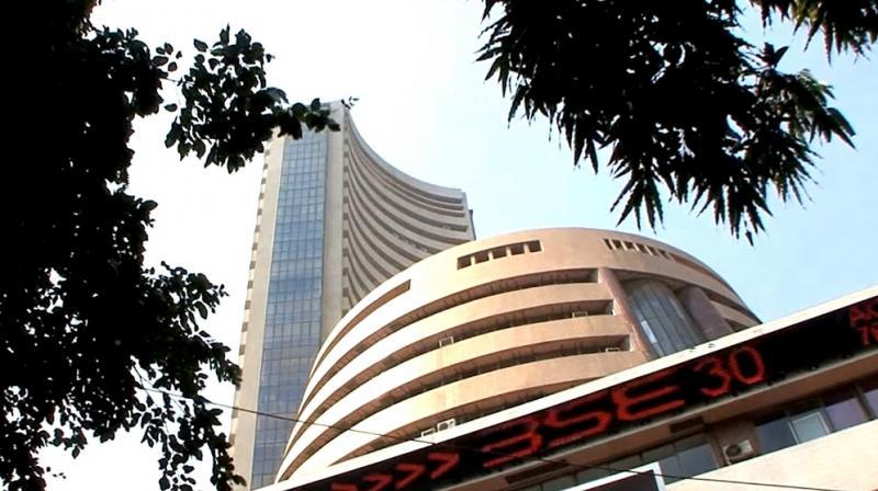 Bombay Stock Exchange, BSE, building.