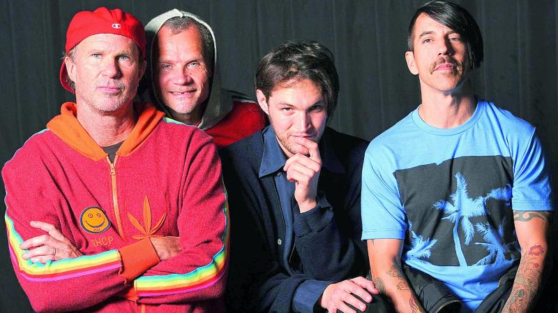 band hot chili peppers