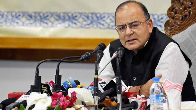 Finance Minister Arun Jaitley. (Photo: File)