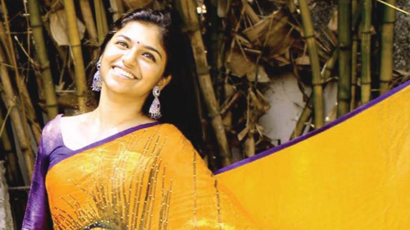 Dubbing artist Raveena Ravi giving life to characters