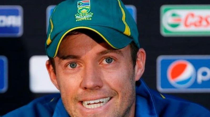 De Villiers had captained South Africa at the 2015 World Cup when they exited in the semi-finals against New Zealand. (Photo: AP)