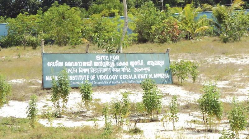National Institute Of Virology Has Land No Building