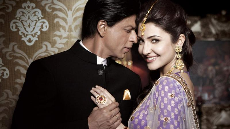 Shah Rukh Khan dropped a hint that his film with Anushka Sharma might just be a romantic film.