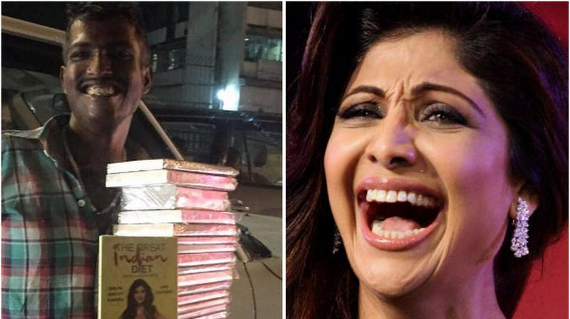Shilpa was fairly surprised herself, when the said incident occurred.