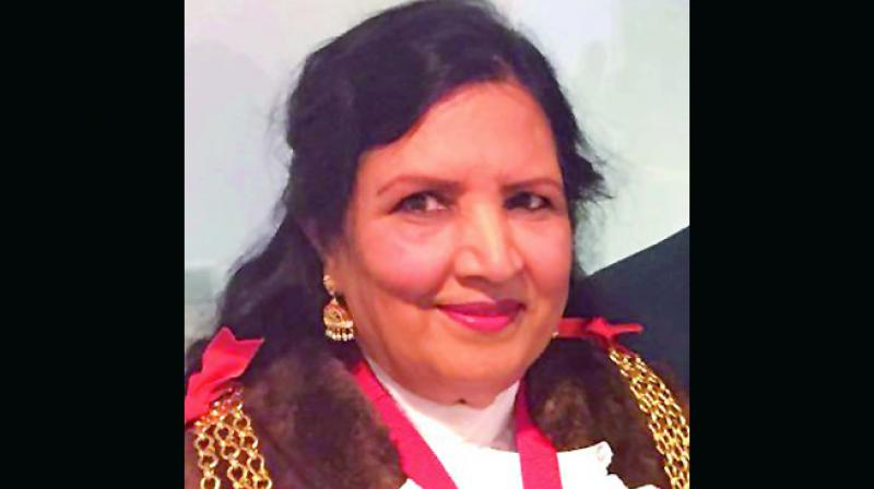 Dr Saleha, who was born in Nalgonda district in Telangana migrated to the UK in 1970.