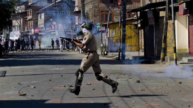 The CRPF said it has fired over 3,500 pellet cartridges from July 9 to August 11 during violence by protesters in the Valley. (Photo: PTI)