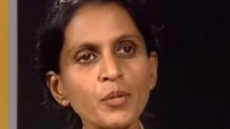 One of the senior most woman IPS officers in the state service, R Sreelekha, heads the State Crime Records Bureau (Photo: YouTube screenshot)
