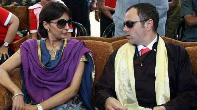 Payal Abdullah, the estranged wife of former Jammu and Kashmir Chief Minister Omar Abdullah. (Photo: PTI)