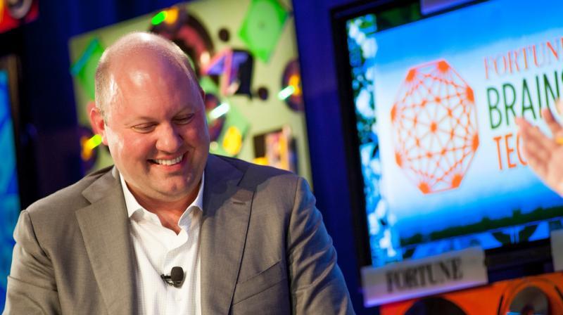 Member of Facebook's board of Director Marc Andreessen.
