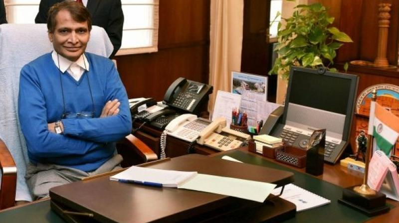 Commerce and Industry Minister Suresh Prabhu has been assigned with the additional charge of the Civil Aviation Ministry. (Photo: DC | File)