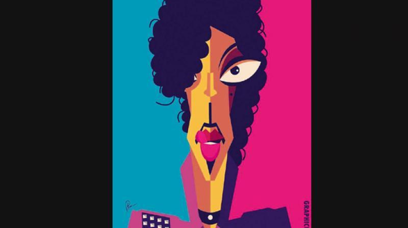 An art tribute by Bengaluru artist Prasad Bhat/Graphicurry