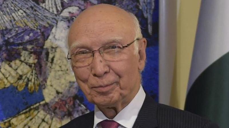 Pakistan foreign affairs advisor Sartaj Aziz. (Photo: AP)